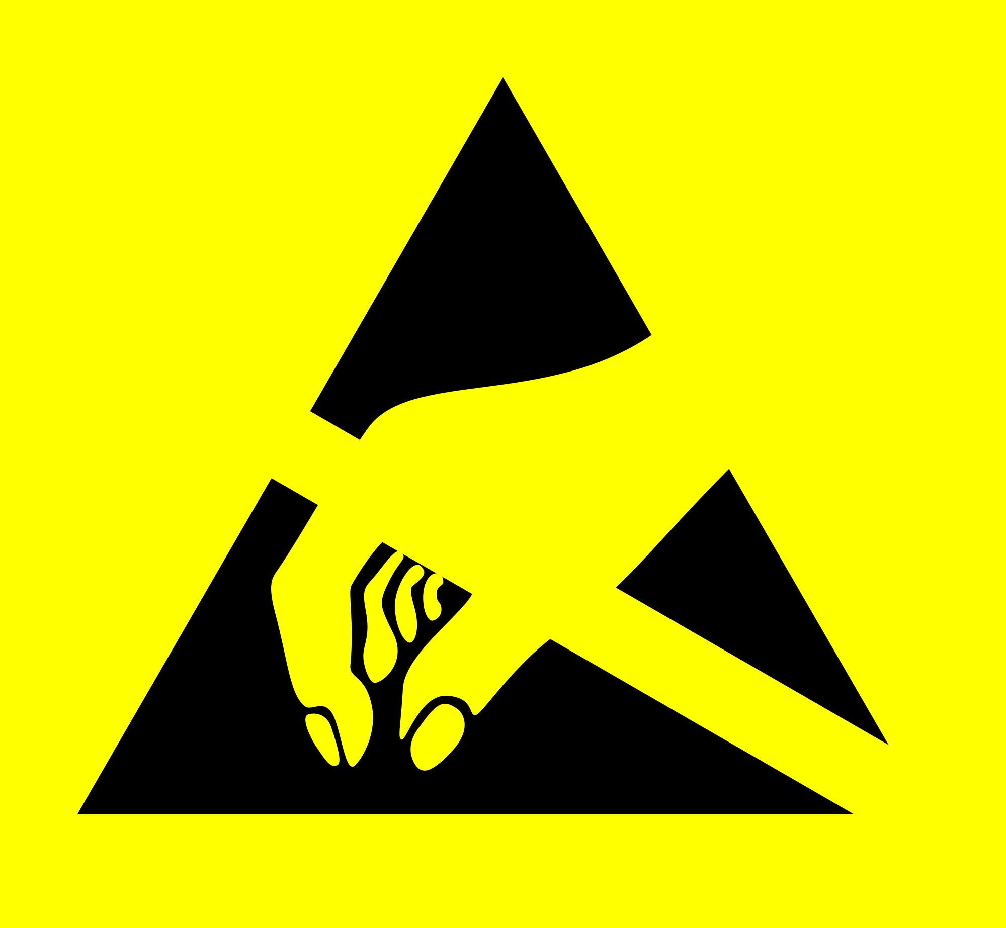Caution ESD